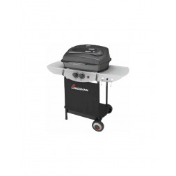 Barbecue à gaz noir- LANDMANN