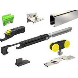 Ensemble rail saf : 1 garniture saf 80 + 5 supports + 1 rail