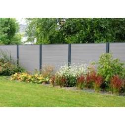 Lame de clôture chocolat 21 x 162 x 1800mm