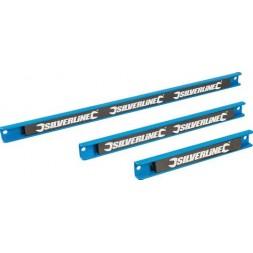 Barre magnétique pour outils x3 - SILVERLINE