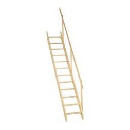 Escalier de meunier sapin - BURGER