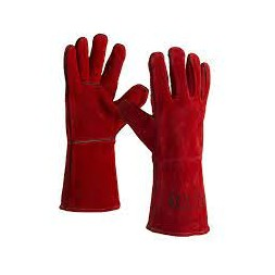 Gant anti chaleur rouge