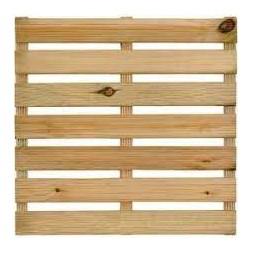 Dalle en bois 7 lames classe III