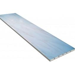 Lambris PVC bleu marbré