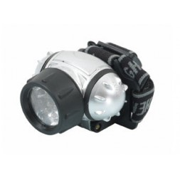 Lampe torche frontale 12 leds - RIBIMEX