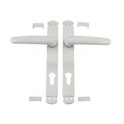 Ensemble béquille aluminium blanc - AMIG