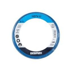Bobinot ho7v-u 1.5  5m bleu - DEBFLEX