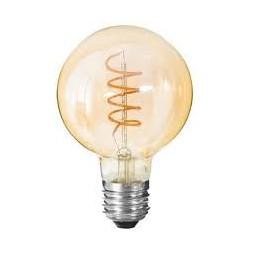 Ampoule LED torsadée A95
