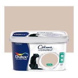 Dulux Valentine crème couleur coton Egypte 2.5 l