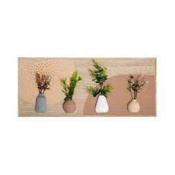 Décoration murale 4 plantes