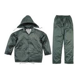 Ensemble de pluie veste + pantalon XL/XXL