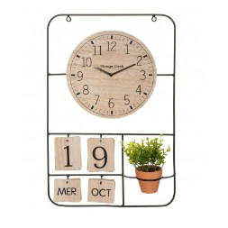 Horloge Camille MDF - ATMOSPHERA