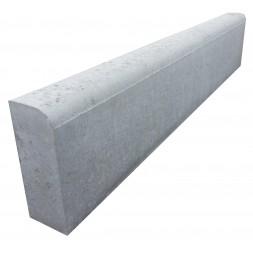 Bordure béton droite grise