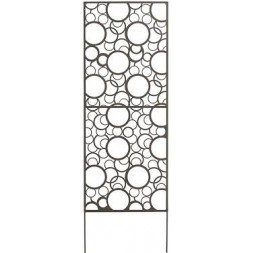 Panneau métal décoratif Brun 0,60 x 1,50 m - NORTENE