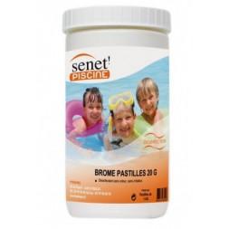 Brome pastilles 20 gr pour spa - pot de 1 kg