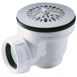 Bonde siphoide en plastique pour receveur de douche 60mm
