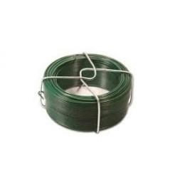 Fil tension plastifié vert 2.4mm - 25m