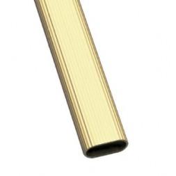 Tube d'ameublement  1-30X15 doré 2M - AMIG