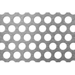 Tôle perforée galvanisée R5/T8 1000 x 2000 x 1.5mm