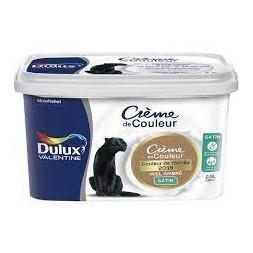 Crème miel ambré 2.5L - DULUX VALENTINE