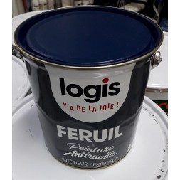 Logis feruil anti rouille bleu nu 2,5 l