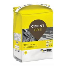 Ciment gris 5kg - WEBER