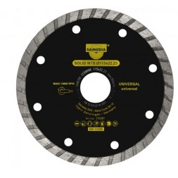 Disque diamant 125 x 22.23mm - SOLID MTS