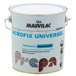 Acrofix universel blanc 0.5L  - MAUVILAC