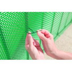 Collier plastique bridfix 14cm blanc - Nortene