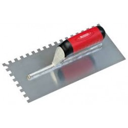 Platoir à colle spécial inox dent trapèze 60 x 11,5 cm -TALIAPLAST