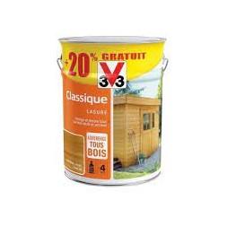 Lasure classique chêne doré 5L + 20%  - V33