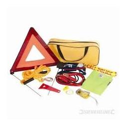 Kit urgence de voiture 9 pièces - SILVERLINE