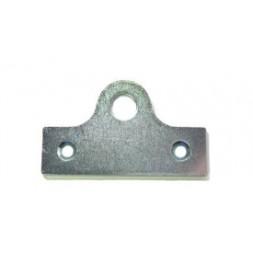 Platine acier/zing porte-cadenas 67 x 40mm