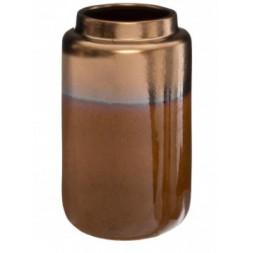 Vase céramique Ocre - ATMOSPHERA