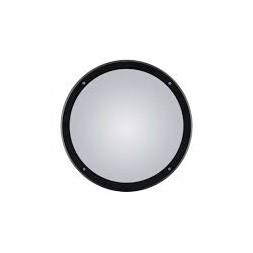 Hublot rond + grille 14w noir (deee 0.06€) - JP OUTILLAGE