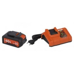 Chargeur batterie DualPower avec batterie lithium 40v