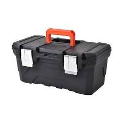 Boîte à outil 61 cm noir - PLASTIKEN