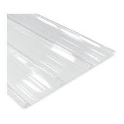 Tôle nervurée polycarbonate opaque long 5m00 - largeur 1m05