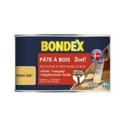 Pâte à bois 2 en 1 chêne clair aspect mat - BONDEX