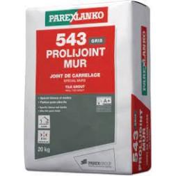 Joint carrelage fin Prolijoint 543 sac de 20kg blanc -LANKO