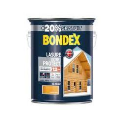 Lasure bois Ultim'protect chêne doré 5L + 20% - BONDEX