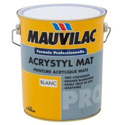 Acrystyl blanc mat 16L - MAUVILAC