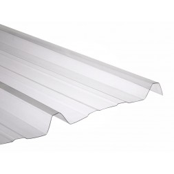 Tôle nervurée polycarbonate opaque long 6m00 - largeur 1m05