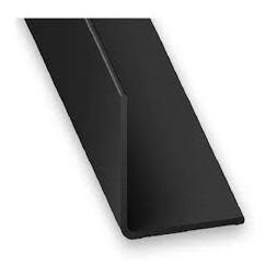 Cornière PVC noir 30 x 30mm - CQFD