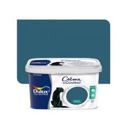 Dulux Valentine crème couleur bleu paon 2.5 l