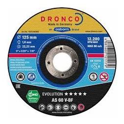 Disque à tronçonner 115x 1.2 x 22.23mm - DRONCO