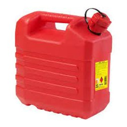Jerrican hydrocarbure rouge 20L