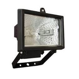 Mini projecteur extérieur halogène 120 W blanc - TIBELEC