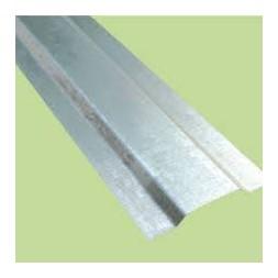 Profil  plat  galvanisé épaisseur 1mm long 6m00