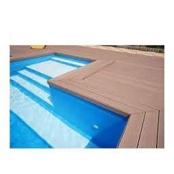 Lame de terrasse alvéolaire noisette  21 x 150 x 2850mm
